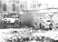 King Tiger of Schwere SS-Panzer-Abteilung 503. Potsdamer Platz Berlin 1945
