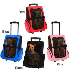 OxGord Cat/ Dog Comfort Travel Portable Pet Rolling Backpack | Overstock.com Shopping - The Best Deals on Cat Carriers