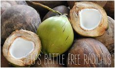 coconut water and free radicals