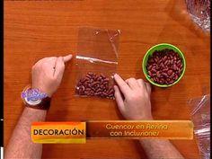 Martín Muñoz - Bienvenidas TV - Cuencos de Resina con Inclusiones