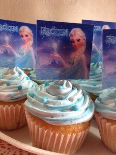 Cup cake de Frozen por Breicka