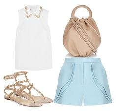"""""""Untitled #2839"""" by evalentina92 ❤ liked on Polyvore featuring Loewe, Miu Miu, Elie Saab, Valentino, women's clothing, women, female, woman, misses and juniors"""