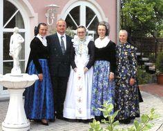 Familie zur Firmung. Catholic sorbs