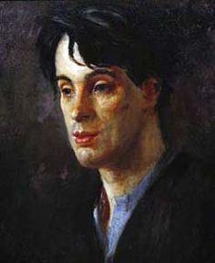 W B Yeats by Augustus John