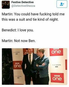 what probably happened at the BBC Series 4 premiere xD (Johnlock)