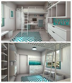 Stan Opla Designs: 8 ideas para decorar espacios reducidos #diariodeco10