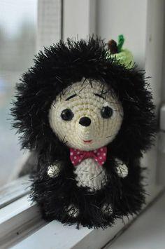 Crochet Hedgehog. Crochet toy. FREE SHIPPING by MargoToys on Etsy