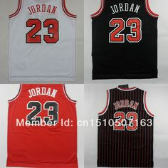 970e17a1f33149 Michael Jordan Jersey Chicago  23 Embroidery Basketball Uniform 7 Colors  Wholesale   Free Shipping US  18.95