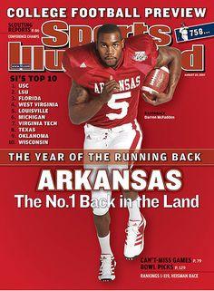 arkansas razorbacks football   Arkansas junior Darren McFadden is featured on this week's edition ...