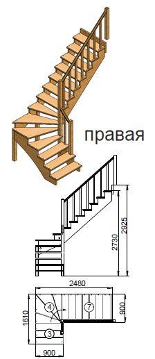 высота перил на деревянной лестнице: 10 тыс изображений найдено в Яндекс.Картинках