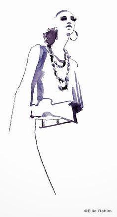 Ellie Rahim Illustration and Design: From the Sketchbook