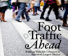"New study shows that walkable urbanism will provide ""an economic foundation for the US economy"" : TreeHugger"