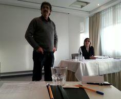3. #SEO Präsenzwochenende in Berlin: Gerald Steffens, akademischer Direktor und Mitbegründer der afs-Akademie und Kerstin Eschrich, Koordinationsleitung / Management