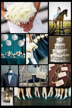 country chic....i want the horse at the wedding!