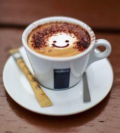 :) coffee!