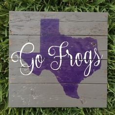 Texas Christian University TCU Horned Frogs  Fort by FenceandFancy