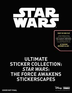 Ultimate Sticker Collection: Star Wars: The Force Awakens Stickerscapes by Ferris, Julie (September 4, 2015) Paperback