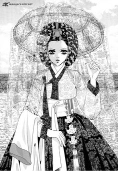 Goong manhwa. Read it. Art is beautiful, but I liked the drama story line better.