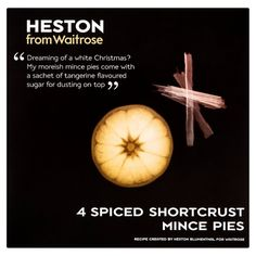 Heston from Waitrose Spiced Shortcrust Mince Pies at Ocado Heston Blumenthal, Online Supermarket, Mince Pies, Sweet Tarts, Christmas Fun, Spices, Recipes, Holiday Ideas, Google