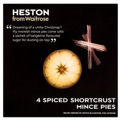 Heston from Waitrose Spiced Shortcrust Mince Pies at Ocado