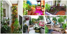 Here we offer a collection of 15 lovable mini gardens that will draw your attention and will inspire you if you lack ideas how to design or decorate your balcony.