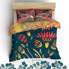 New designs  #bedroomdecor #bedding #bedroom #bedlinen #textiles #duvetcover #homedecor #florals #printandpattern #prints