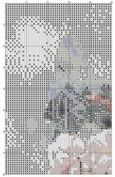 Gallery.ru / Фото #1 - ww - dafi123 Counted Cross Stitch Patterns, Asia, Crossstitch, Lady, Punto De Cruz, Needlepoint, Cross Stitch Patterns, Cross Stitch, Seed Stitch