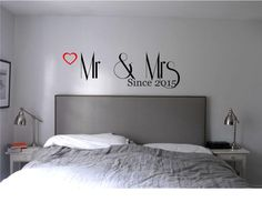 Hey, I found this really awesome Etsy listing at https://www.etsy.com/listing/220113976/mr-mrs-master-bedroom-wall-decal-wall
