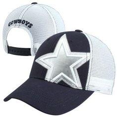 2013 New Era Dallas Cowboys Women's Snyder Adjustable Hat - Navy Blue