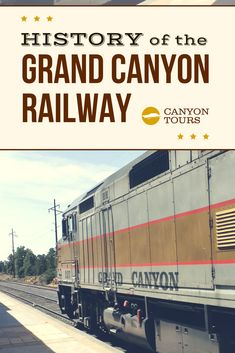 All aboard! Ride the rails back in time with our look at the history of the Grand Canyon railway: Most Visited National Parks, National Parks Usa, Grand Canyon Railway, Visiting The Grand Canyon, Back In Time, Rock Climbing, Rafting, The Great Outdoors, Tours