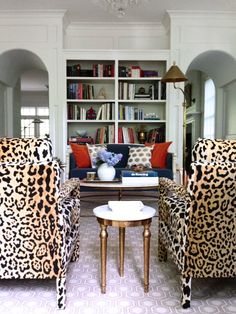 My Favorite Leopard Fabric