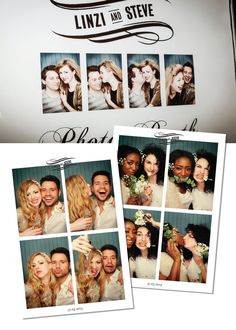 A Vintage Journey To Happiness on Bride Bubble real weddings. Photo booth.
