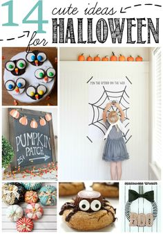 14 Cute Ideas for Halloween | Ginger Snap Crafts