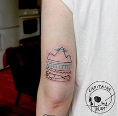 Capitain Plum' tattoo. https://www.facebook.com/CapitainePlumTattoo