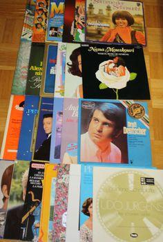 26x 12  Vinyl SCHLAGER / DEUTSCH - UDO JÜRGENS - PETER ALEXANDER