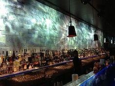 The bar at Hakassan