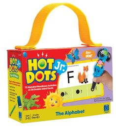 Amazon.com: Educational Insights Hot Dots Jr. Cards - The Alphabet (2351): Toys & Games