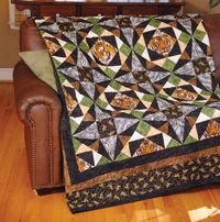 Love of Quilting - Tigers - Free Quilt Pattern