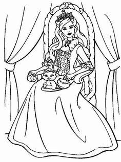Prinzessin 7 Ausmalbilder