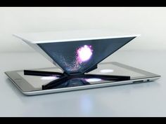 "HOLHO converts smartphone or tablet into a ""holographic"" projector. - YouTube"
