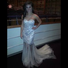 FAB FAN PHOTO!! Maegan took our breaths away in her gorgeous Terani gown at the IJM Nationals! [Photo Credit: @sassychicpageantprom | Instagram]