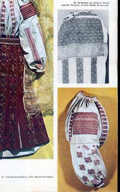 Gorj, Oltenia (Wallachia) Folk Costume, Costumes, Rock Revival, Textiles, Moldova, Popular, Traditional, Blouse, Fashion