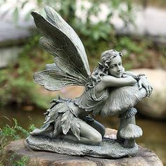 Delphinia Garden Color Fairy Statue - Ships Separately