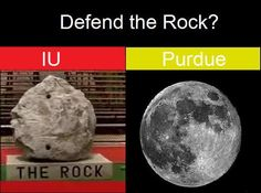 Yeah, like dem hoosiers could defend ANYTHING!! ~~~ Boiler Up!