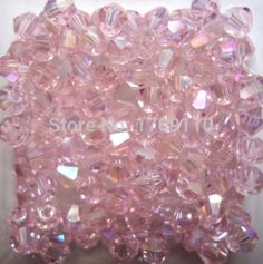 Free shipping Pink Colors 100pcs 4mm Bicone Austria Crystal Beads charm Glass Beads Loose Spacer Bead for DIY Jewelry Making♦️ SMS - F A S H I O N 💢👉🏿 http://www.sms.hr/products/free-shipping-pink-colors-100pcs-4mm-bicone-austria-crystal-beads-charm-glass-beads-loose-spacer-bead-for-diy-jewelry-making/ US $0.77