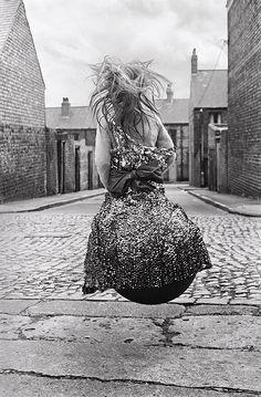 Sirkka-liisa-konttinen_-girl-on-a-'spacehopper'_-1971_-from-byker_-part-of-photo50-at-london-art-fair