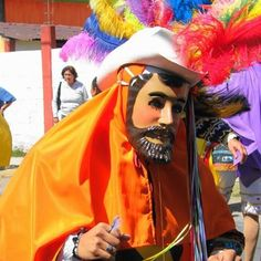 Camadas de San Juan Totolac una de las mas viejas en el carnaval de Tlaxcala