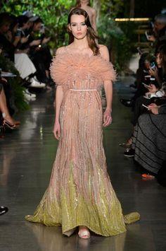 Défilé Elie Saab printemps-été 2015 Haute couture   Le Figaro Madame