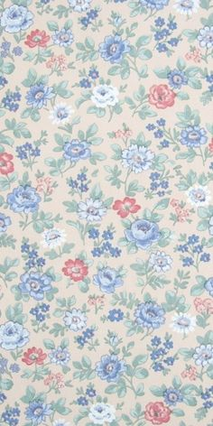 Vroni | Small Pattern Wallpaper | Vintage Wallpaper | Johnny-Tapete