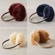 Rank & Style - Anthropologie Faux-Fur Earmuffs #rankandstyle